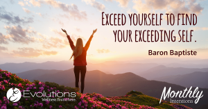 Exceed yourself