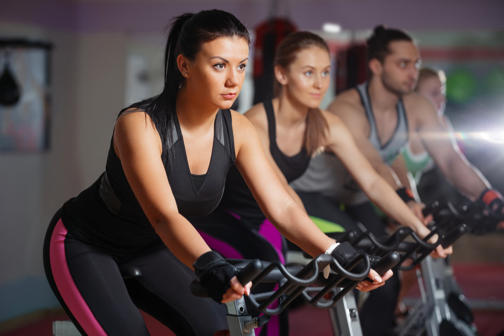 Mental Benefits Spin Indoor Cycle Body Image