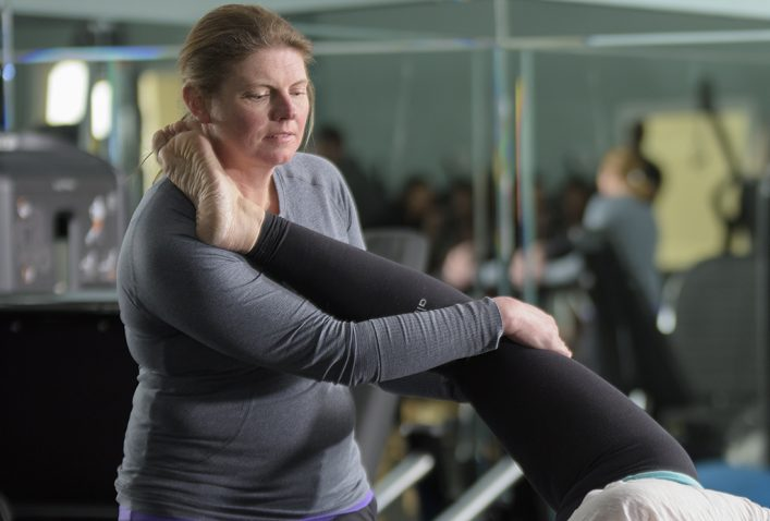 Fascial Stretching focuses on breathing between movements